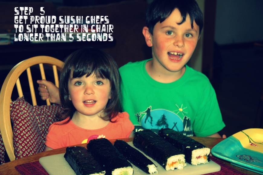 Little sushi chefs