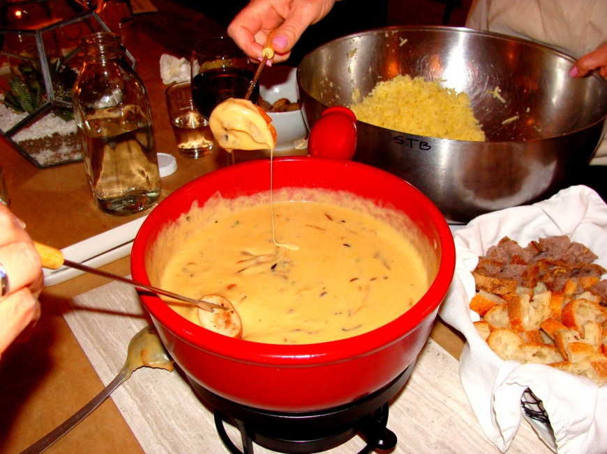 French onion fondue
